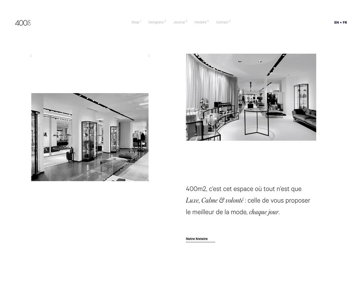 Tendances design web 2018 - 400M2