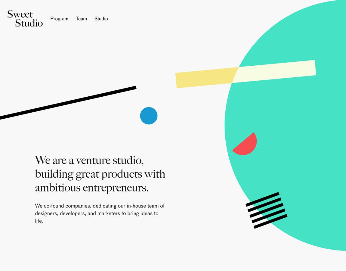 Tendances design web 2018 - Sweet Studio